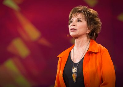 Isabel Allende: HOW TO LIVE PASSIONATELYIn this candid talk, meant for viewers of all ages, Isabel shares how she keeps on living passionately.