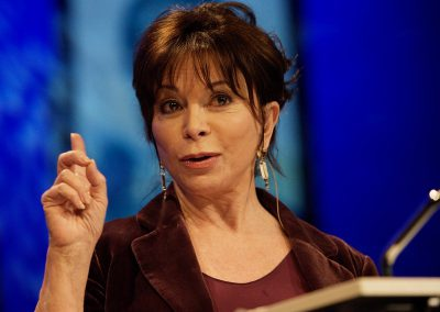 Isabel Allende: TALES OF PASSIONIsabel discusses women, creativity, the definition of feminism — and, of course, passion.