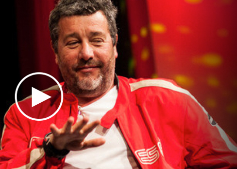 "Philippe Starck:<br> <h2 style=""color: #000000;"">DESIGN & DESTINY</h2><p>Designer Philippe Starck is reaching for the very roots of the question «Why design?»</p>"