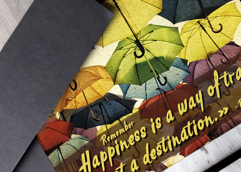 Happiness is a Way of Travel …