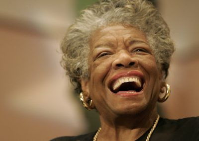 Dr. Maya Angelou: THE POWER OF WORDSYou've got to be careful cause you're WEARING what you speak.