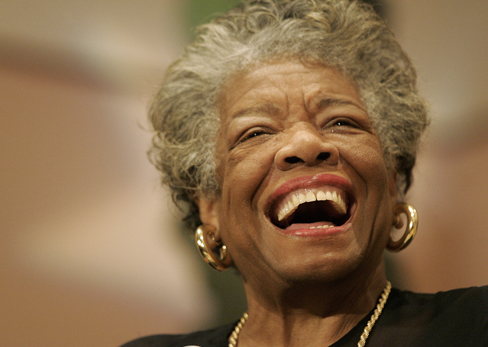 "Dr. Maya Angelou:<br> <h2 style=""color: #000000;"">THE POWER OF WORDS</h2><p>You've got to be careful cause you're WEARING what you speak.</p>"