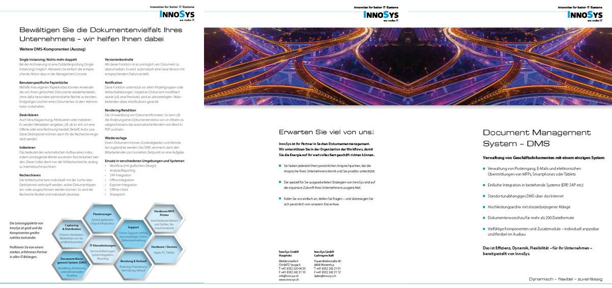 InnoSys Document Management Systemment