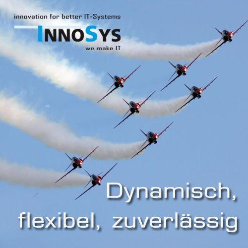 InnoSys Broschüren & Facebook