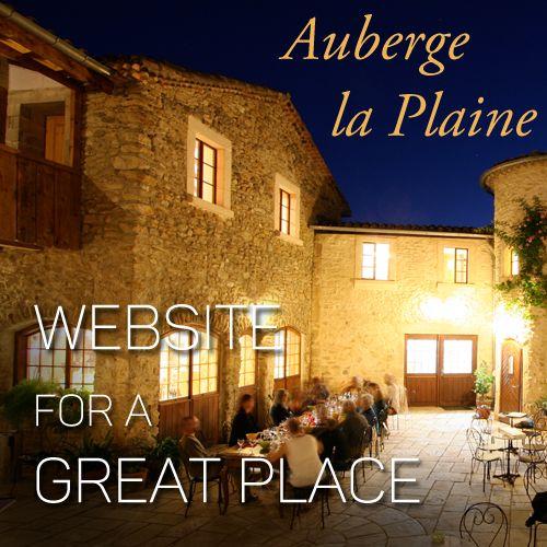 Auberge la Plaine – Website