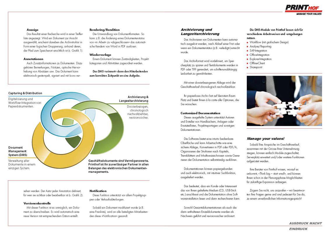 Printhof Document Management Services