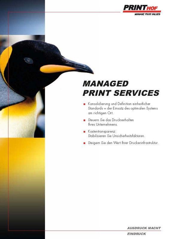 Printhof Managed Print Services