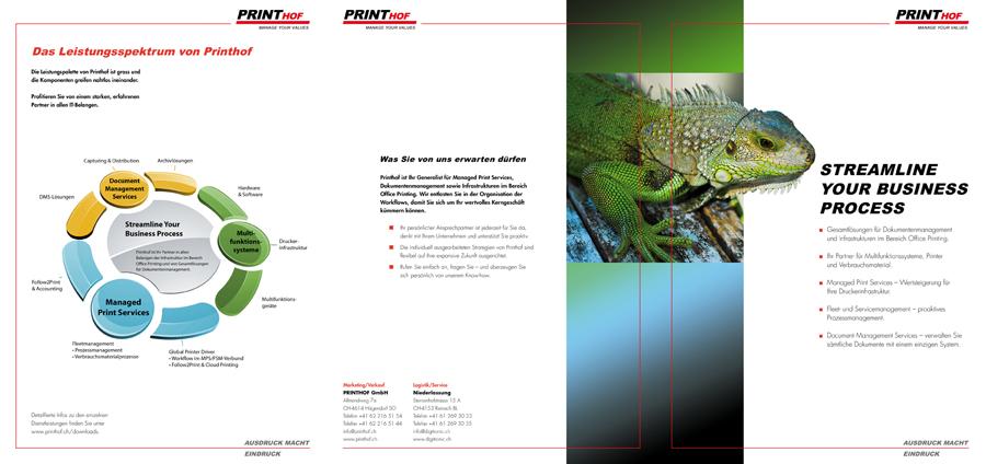 Printhof Unternehmensdoku