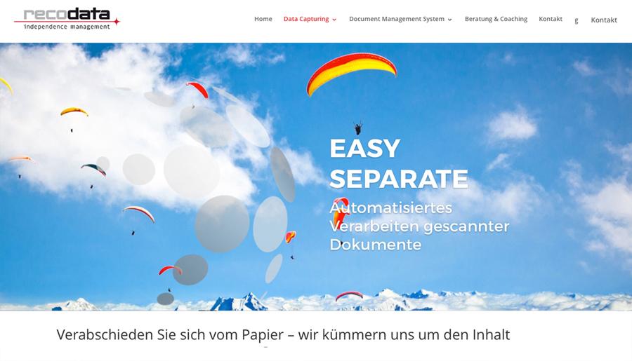 Recodata Website 3
