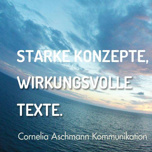Cornelia Aschmann Kommunikation