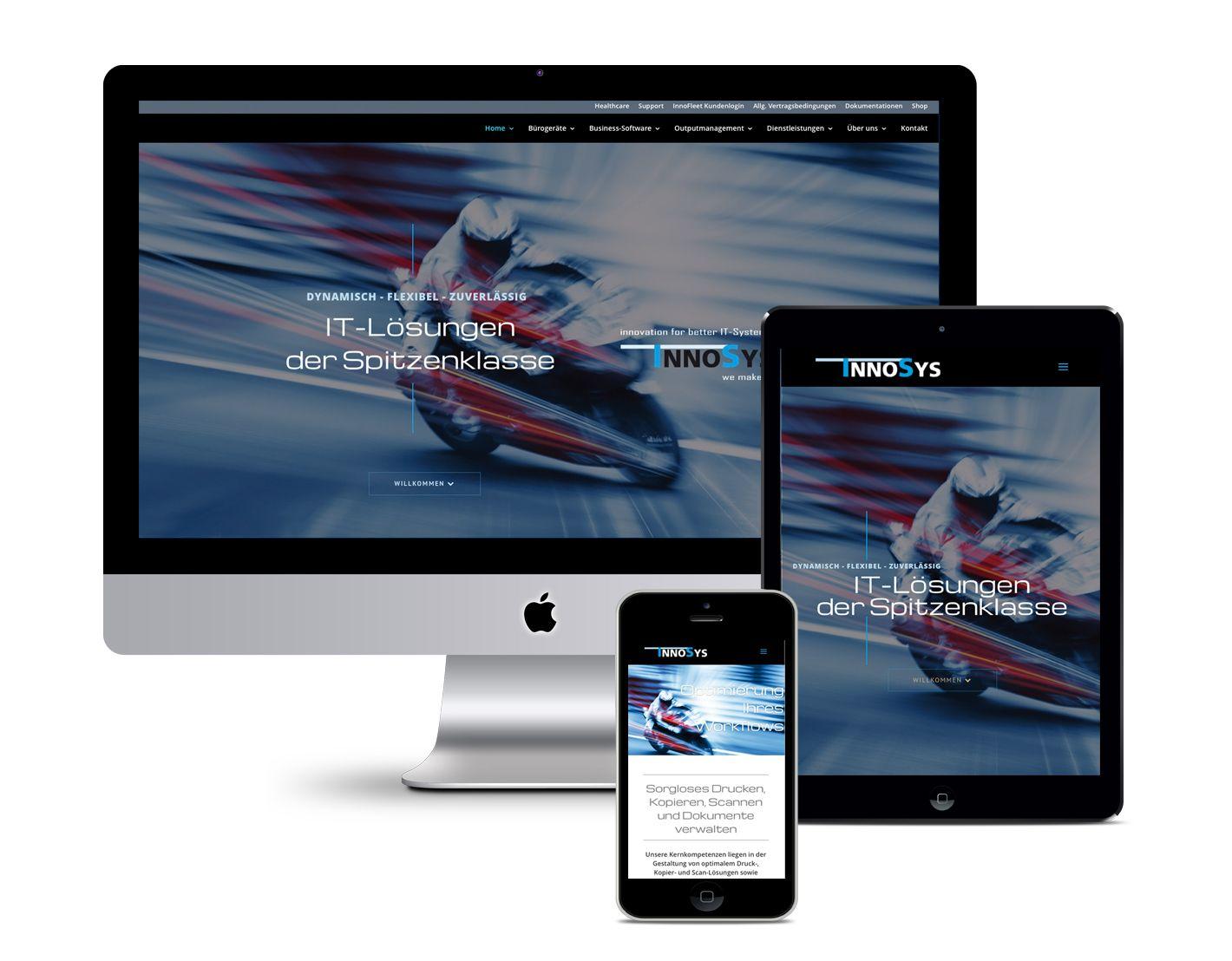 Responsive Webdesign – InnoSys