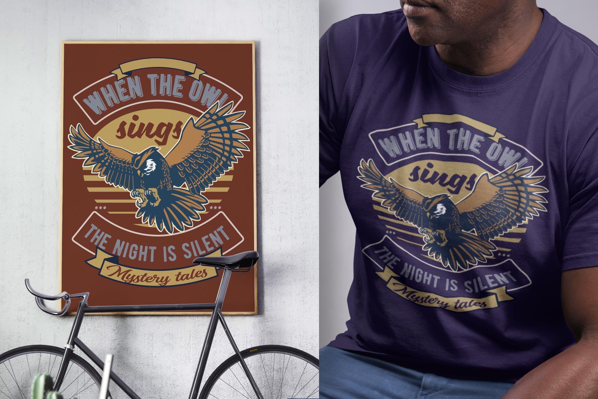 Featured Frame & T-Shirt