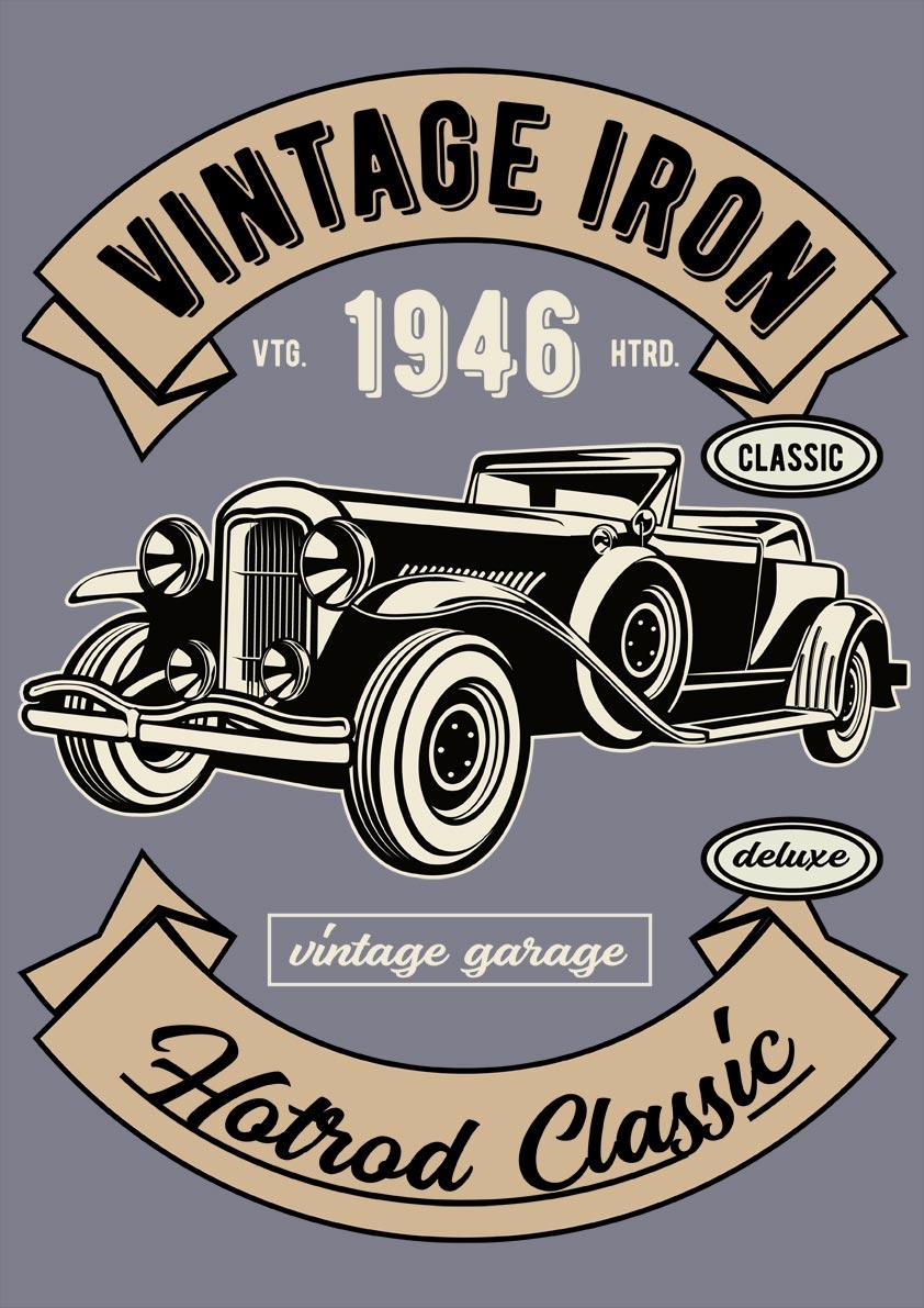 Vintage Deluxe Car