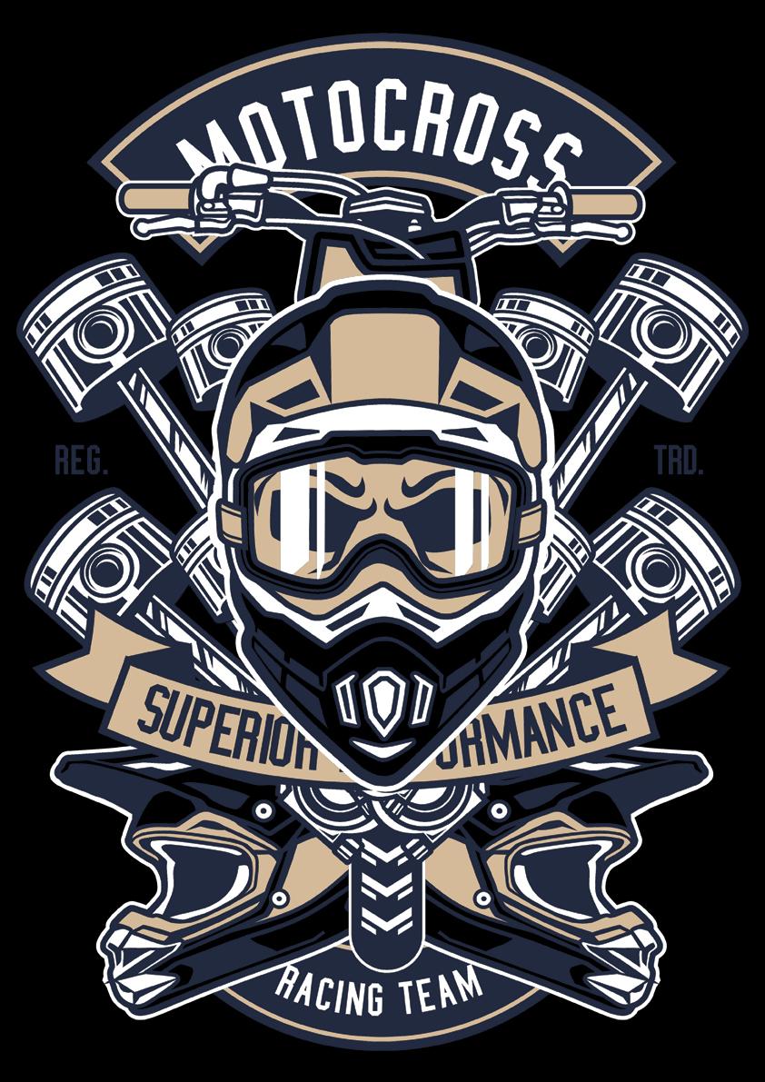 Retro Card – Motocross Heroes