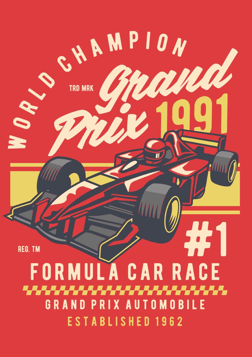 Retro Card – Grand Prix Champion