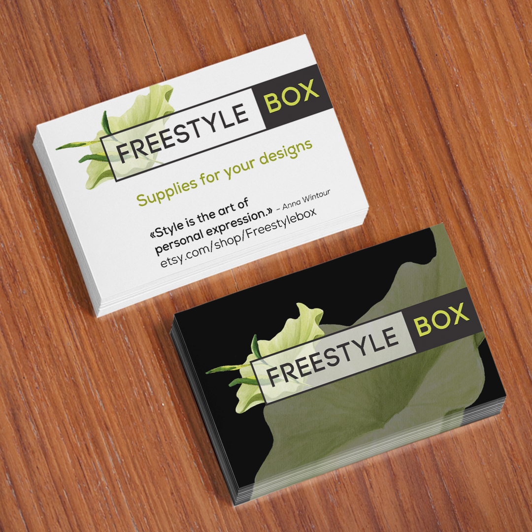 Freestylebox Business Cards