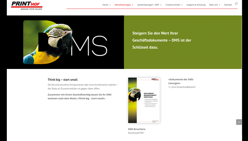 Printhof DMS