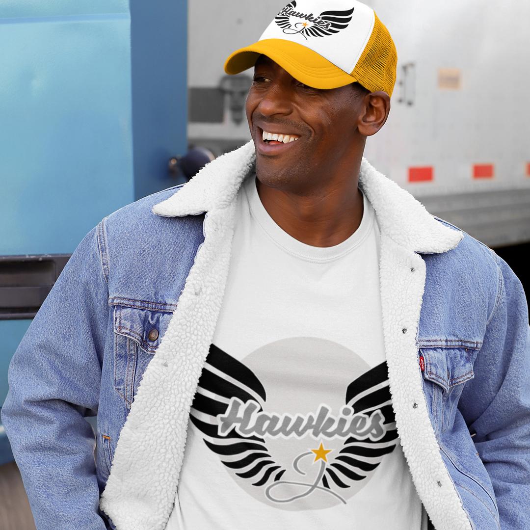 Hawkies Shirt & Cap
